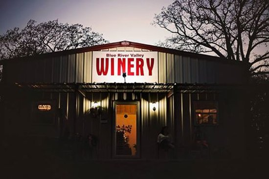 Blue River Valley Winery (Night)
